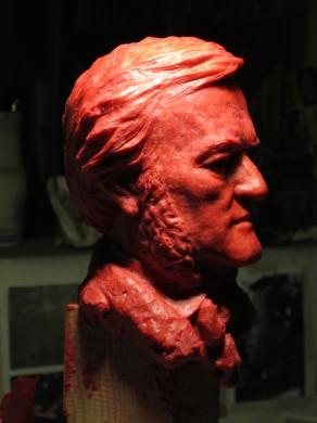 Modelo en cera del Premio Richard Wagner a partir de 2014.