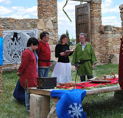 Odinist_wedding_at_the_community's_Temple_of_Gaut_in_Albacete