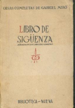 libro-de-siguenza-gabriel-miro-19754-MLA20176400990_102014-O